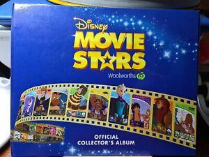 Woolworths 🏆Disney Movie Stars Album (EMPTY NO CARDS) 🏆FREE POST