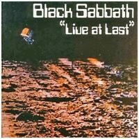 BLACK SABBATH - LIVE AT LAST (JEWEL CASE CD)  CD NEUF