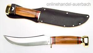 LINDER Rehwappen Skinner Pflaumenholz Messer Jagdmesser