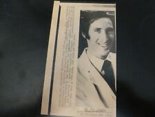 Vintage Wire Press Photo Dr Jay Weiss MacArthur Foundation Fellowship 1980's