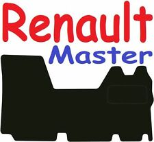 Renault Master Tailored car mats ** Deluxe Quality ** 2009 2008 2007 2006 2005 2