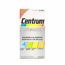 Centrum Advance A to Z Multivitamins Multiminerals 100 Tablets Multi Vitamins