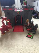 Playmobile Castle With Figures And Dragon
