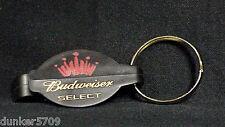 BUDWEISER SELECT BOTTLE OPENER KEY RING USED