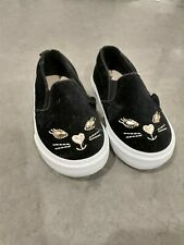 NEW Baby Gap Size 6 Toddler Girls Shoes Black Cat