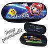 trousse à crayons Super Mario personnalisée avec prénom V1