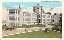 Tarentum Pennsylvania Grandview School Antique Postcard J50387