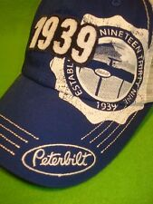 Peterbilt Motors Trucks Felt Patch 1939 Trucker Cap / Hat...FREE SHIPPING TO USA