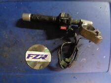 1989 FZR 1000 left clutch clip on handle bar switch controls FZR1000 90 95