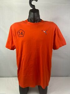 Rare Men's PUMA Soccer Netherlands Football Sz XL Shirt