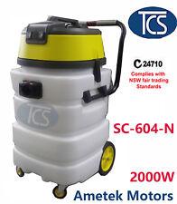 TCS Commercial Industrial 90L Wet & Dry Vacuum Cleaner 2000W (2 Ametek Motors)