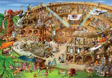 Jigsaw Puzzle International Roman Coliseum Italy Caricature 1000 piece NEW