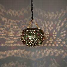 Oriental Lámpara Colgante LÁMPARA MARROQUÍ Lámpara colgante de latón djamila