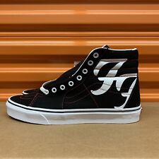 Vans Sk8-Hi Foo Fighters 25th Anniversary Men's Black Shoes Sz 10 (VN0A4U3C2GB)