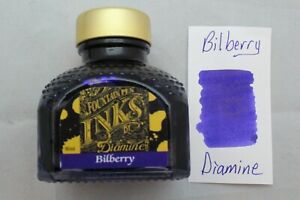 Diamine 80ml Fountain Pen Bottled Ink Bilberry