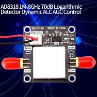 AD8318 1M-8GHz 70dB Module Détecteur Logarithmique Dynamique ALC AGC Contrôle