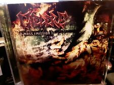 CAEDERE Mass Emission Death Metal Pyrexia Suffocation Cd Pyaemia Hypocrisy cover