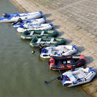 Inflatable Raft Fishing Dinghy Boat /sun shelter /Boat Engine/mount kit OPTIONAL