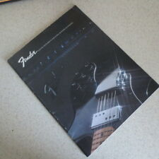 1972 Fender Guitar Bass Catalog Amplifiers Keyboards Electric Instruments