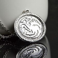 A Game of Thrones Inspired House Targaryen Dragon Necklace UK BASED FREE P&P