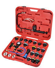 TS9117 29PCS COOLING SYSTEM LEAKAGE TESTER AND VACUUM-TYPE COOLANT REFILLING SET