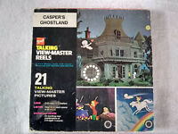 Vintage gaf Talking Viewmaster Reels 1969 Casper's Ghostland Casper the Ghost