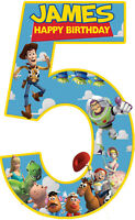 Toy Story 5 Personalised Edible Image Print on REAL Icing Birthday Cake Topper