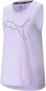 Puma Favourite Cat Womens Training Vest Tank Top - Purple