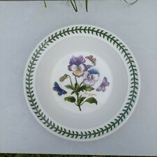 Portmeirion Botanic Garden Pansy Soup Pasta Plate Bowl 21.5cm