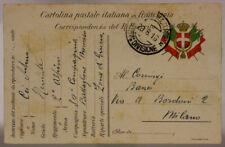 POSTA MILITARE 37^ DIVISIONE 20.8.1916 #XP289C