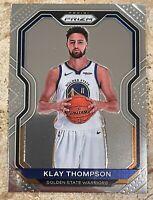 Klay Thompson 2020-21 Panini Prizm Base Card #87 Golden State Warriors