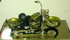 MAISTO 1:18 DIE CAST MOTO HARLEY DAVIDSON 1953 74FL HYDRA GLIDE  ART 34360