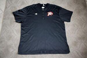 1998-99 Philadelphia 76'ers player/game used warm up shirt Champion size XXL