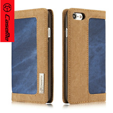 iPhone 7 Wallet Blue Case Magnetic Stand Cover Flip and Card Slot Pocket