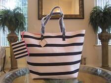 NWT Macy's Exclusive Women Pink Large Beach Tote Bag Purse Shopping Handbag!