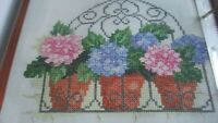 'Bursting Into Bloom' Cross stitch chart only