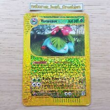 NEAR MINT Condition Venusaur Box Topper 8/12 Holo/Shiny, Expedition Oversized