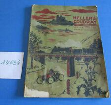 N°14634  :  catalogue  jouets scientifiques HELLER & COUDRAY   1907 ?
