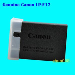 Genuine Canon LP-E17 Battery For EOS 750D 760D M3 M5 M6 Rebel T6i T6S T7i LC-E17