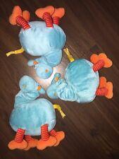 1Stück- Ikea Giraffe Barnslig Spieluhr Plüschtier Kuscheltier Türkis Blau Orange