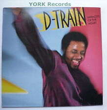 JAMES (D-TRAIN) WILLIAMS - Miracles Of The Heart - Ex Con LP Record CBS 450066 1