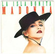 ♫  MADONNA .LA ISLA BONITA ♫ 45 tr 7'' SIRE 1987  .  928378-7