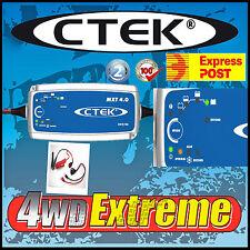 CTEK MXT 4.0 24 VOLT 4 AMP 4A BATTERY CHARGER MXT4.0 DEEP CYCLE AGM GEL CALCIUM