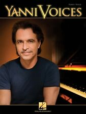 Yanni Voices Sheet Music Vocal Piano Book NEW 000307083