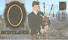 8 JUNE 1999 SCOTLAND 64p SIGNED BY MSP J DOUGLAS-HAMILTON BENHAM SILK FDC SHS