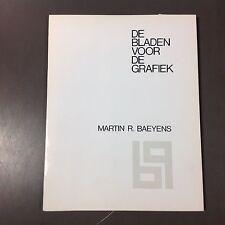 Martin R. Baeyens - Mapje met 10 originele houtsneden - 1969 (12.14.7)