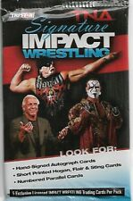 2011 TNA Signature Impact WWE Unopened Single Retail Pack w/ 5 Trading Cards