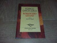 ROMANCERO GITANO / FEDERICO GARCÌA LORCA