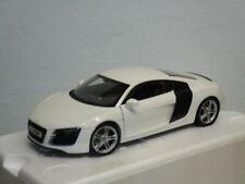 ORIGINALE Audi r8 LMX modello di auto 1:43 arablau modello AUDI r8 LMX BLU 1:43