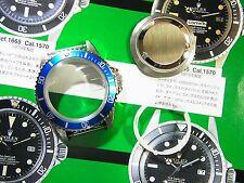 316L Stainless Steel Case Set Fit ETA 2836 & 2824-2 Blue Insert Submariner